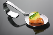 Amuse van zalm in Hollandaisesaus recept