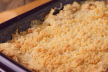 Crumble met nectarines of perziken recept