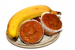 Banaanmuffins met honing recept