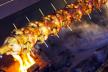 Kipspiesen met Zeeuws spek recept