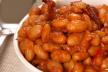 Mexicaanse bonenschotel met tacochips en zure room recept