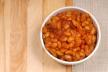 Bruine bonen met uien en spek recept