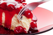 Cheesecake met rood fruit recept