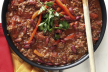 Chili con carne met zure room recept