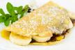 Pannenkoek met banaan en vanillekwark recept