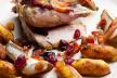 Filet van fazantborst in bacon met aardappel en linzen recept