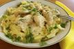 Penne met kip, doperwtjes en ricotta recept