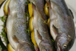 Forel met peterselie-roomsaus recept