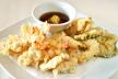 Gamba-tempura met sojasaus recept
