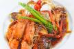 Gamba�s met Parmezaanse poffertjes, basilicumolie en tomatencompote recept