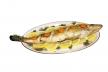 Gestoomde makreel met citroensausje recept