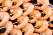 Gamba's in knoflook recept