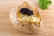 Gepofte aardappelen met zalm recept