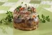 Gevulde champignons met prei-citroensaus recept
