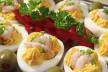 Gevulde eieren met forel recept