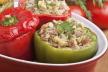 Paprika gevuld met gehakt uit de oven recept