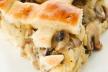 Hartige taart  met champignons recept
