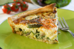Courgette quiche recept