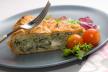 Hartige taart met courgette en kool recept