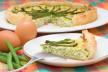Hartige taart met tomatensalade recept