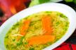 Kippensoep met courgette recept