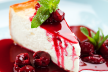 Cheesecake met frambozen en aardbeiencoulise recept