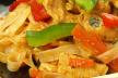 Kabeljauw met peultjes in de wok recept