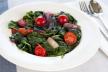 Knoflook spinazie met tomaat recept