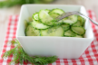 Komkommer salade recept