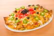 Nacho's met rundergehakt, tomaten, stoneleeks en zure room recept