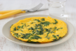 Broodfrittata met spinazie recept