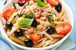 Pasta met tonijn-tomatensaus recept