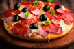 Pizza variatie nr. 1 recept