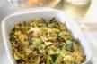 Vegetarische ovenschotel met prei, aardappels, en quorn recept