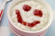 Valentijns warme appelcompote met frisse zure room recept