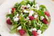 Salade van peren met geitenkaas recept