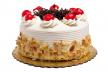 Slagroom taart recept