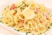 Romige spaghetti recept