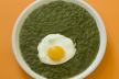 Spinazie met pesto-kip recept