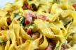 Tagliatelle Carbonara recept