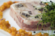 Terrine van gestoomde makreel en zeekraal recept