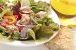 Gegrilde tonijn op een salade recept