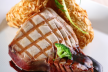 Verse tonijnsteak met groente risotto recept
