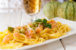 Spaghetti met gerookte zalm recept