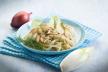 Noodles met witlof en vegetarisch hachegehakt recept