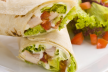 Wraps met roomkaas recept
