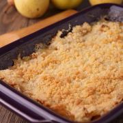 Appel crumble recept