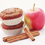 Appel-kaneelmuffins voor de slanke lijn
