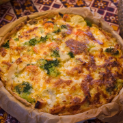 Brocolli quiche recept