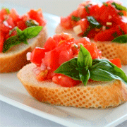 Brunch bruschetta recept